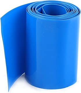Sourcingmap 29.5mm//18.5mm PVC Heat Shrink Tubing 5m 16.4ft for 18650 18500 Battery