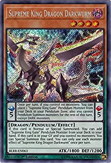 Supreme King Dragon Darkwurm - BLRR-EN063 - Secret Rare - 1st Edition