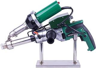 Hand Extrusion Welder Gun Plastic Handheld Extruder Welding Gun PP HDPE LDPE Pipe Welding Machine (220V Extruder)