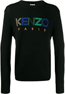 Kenzo Luxury Fashion Mens F965PU2173LC99 Black Sweater | Fall Winter 19