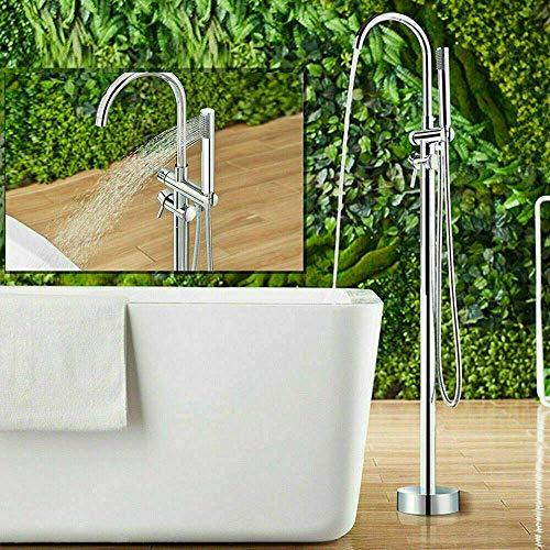 Grifo para bañera independiente Grifo para baño Mezclador para grifo Grifo de pie para grifo
