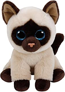 TY - Beanie Babies Jaden, peluche gato siamés, 15 cm (United Labels Ibérica 42129TY) , color/modelo surtido
