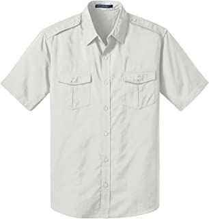 Port Authority Men's Stain-Resistant Comfortable Twill Shirt