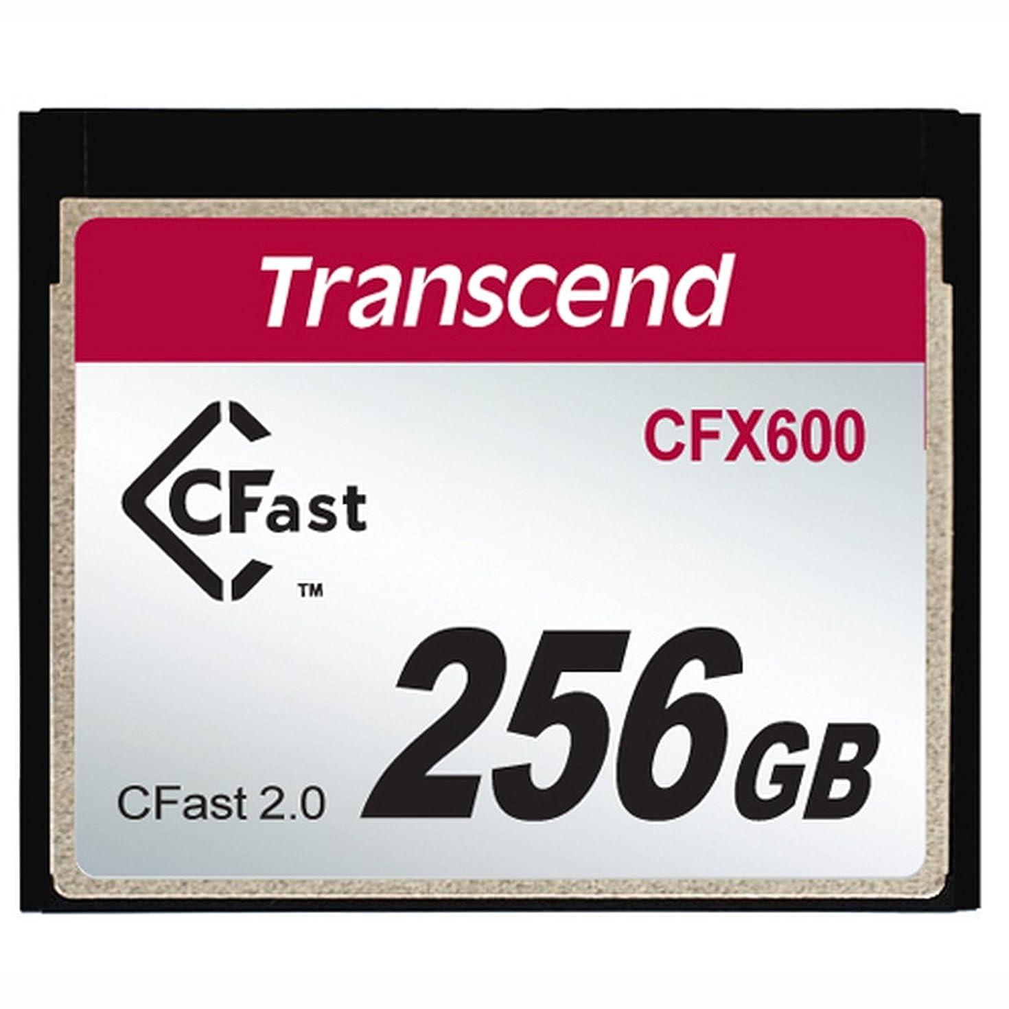 樹皮歯科のサーバトランセンド 256GB CFX600 CFast 2.0カード (TS256GCFX600)[並行輸入品]