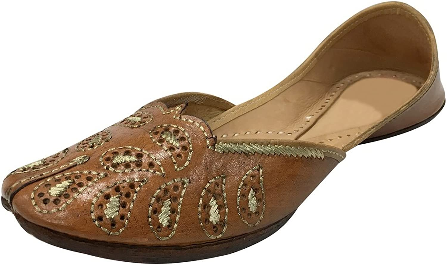 Step n Style Indian Khussa shoes Slippers Sandals Punjabi Juti Mojri Ballerina shoes