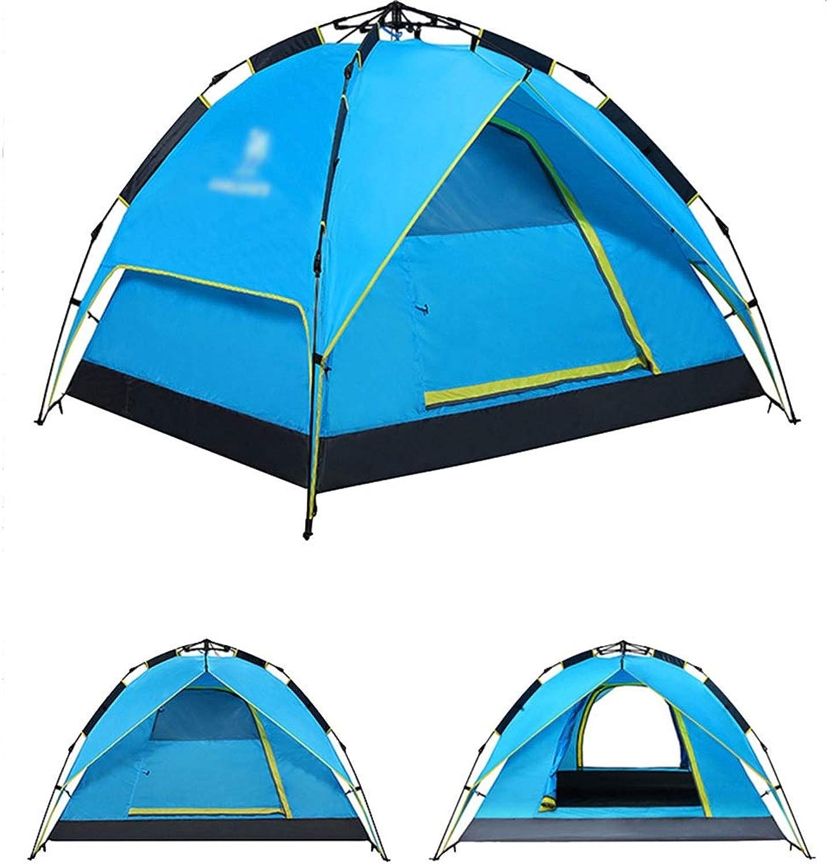 Alexzh Outdoor-Zelt, im Freien 3-4 Person Zelt automatische volle Dicke Dicke Dicke regendicht Camping Outdoor-Zelt B07G62QY41  Liebessport, wirklich glücklich 023ab2