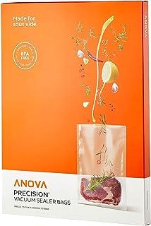 Anova Culinary ANVB01 Anova Pre-Cut Sous Vide Vacuum Sealer bags, One size, Clear (Renewed)
