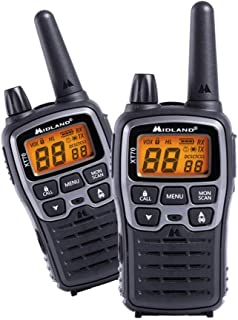 Midland XT70 24channels 446.00625-446.09375MHz Negro, Gris Two-Way radios - Walkie-Talkie (24 Canales, 446.00625-446.09375...