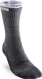 Injinji Men's Liner + Hiker Crew Socks