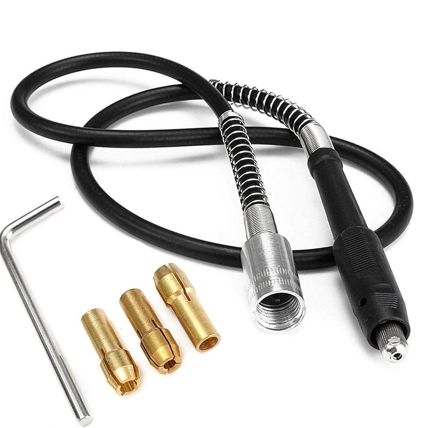 溶融誘惑する準備するHonana 42インチM19x2mm 107センチメートルコード付き電気柔軟なシャフト用電源回転工具のドリルチャック 工業用ドリルビット