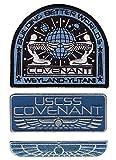 3PC Iron ON Covenant Alien Movie Prometheus Covenant Weyland Corp Crew Patch