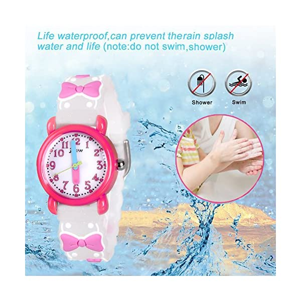Dodosky Kids Watch, 3D Cartoon Waterproof Watch for Girls Boys Age 3-8 – Gifts for Boys and Girls