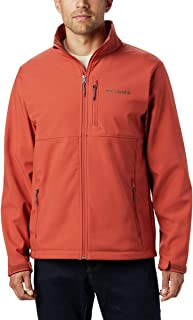 Columbia Men's Ascender Softshell Water and Wind Resistant Jacket