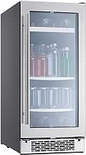 Zephyr PRB15C01AG Presrv 15 Inch Wide 62 Can Capacity Beverage Center PreciseTemp Sensors