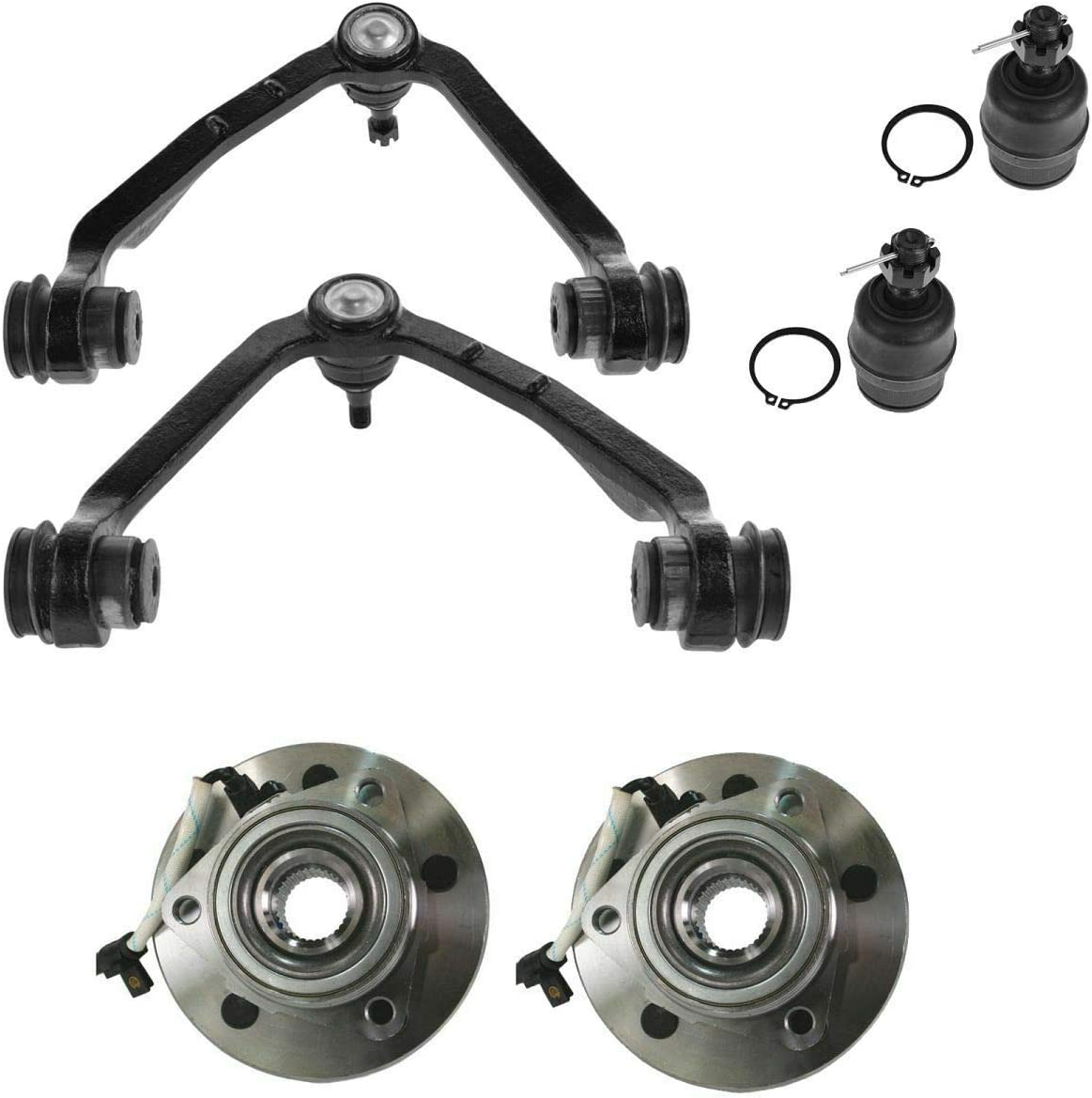 Control Arm Ball Detroit Mall Joint Hub 2021 autumn and winter new Front Upper 6 Comp Kit of Set Lower