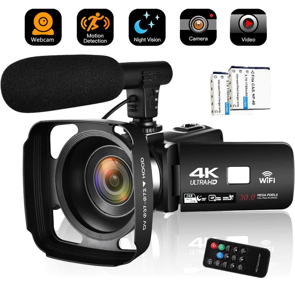 Camcorder Vlogging Blogging Digital Microphone