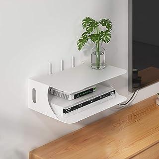 Los estantes de almacenamiento flotante de DVD soporte de exhibición -iron hueco en forma de U for TV Componente Estante, ...