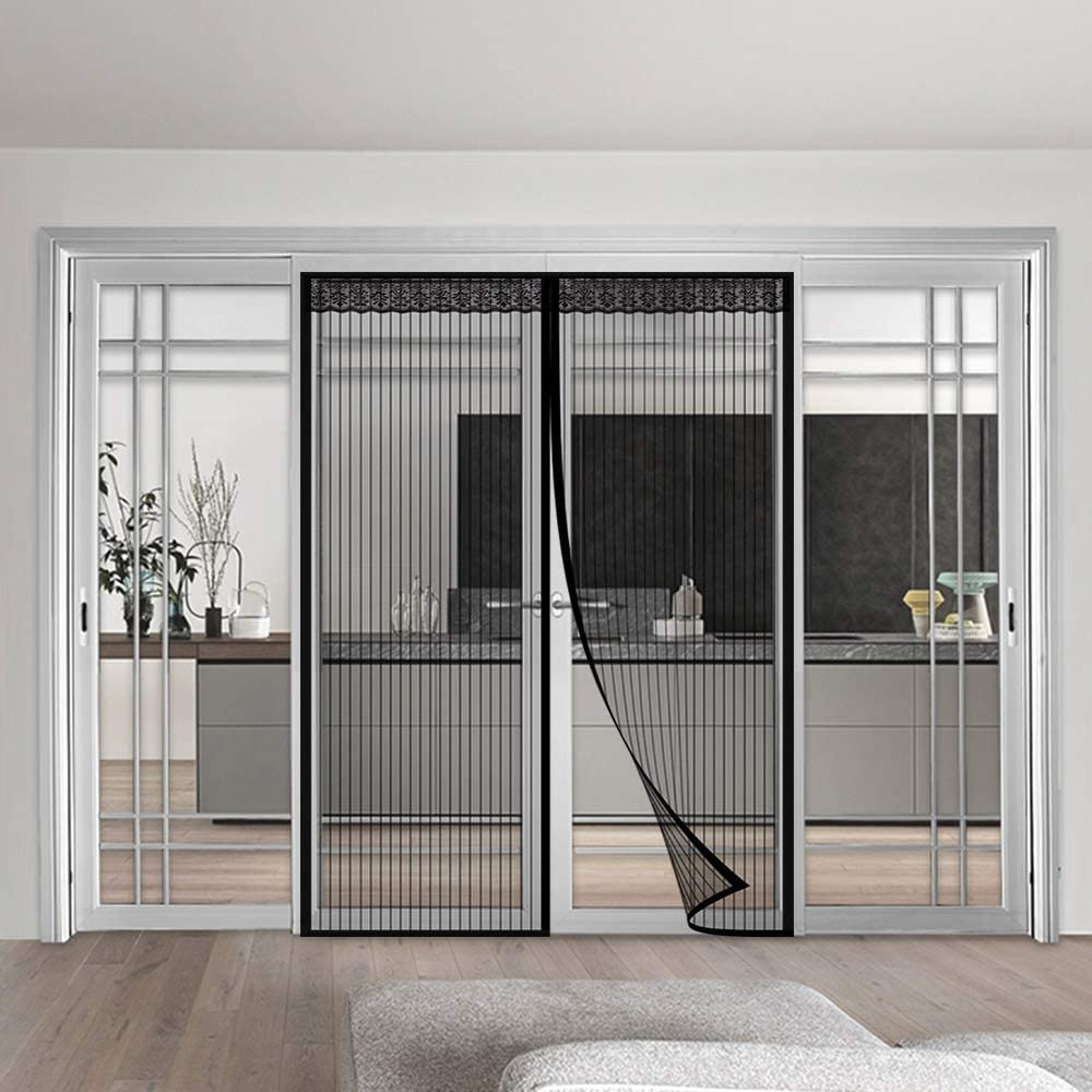 Coedou Magnetic Fly Screen Door Credence with Ranking TOP3 Duty Mesh Heavy and Curtain