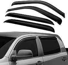 ALAVENTE Side Window Deflectors Ventvisor Window Visors Window Rain Guards for Most 2001-2006 GM Full Size Crew Cab Trucks SUV's Also Fits 2007 HD Classic Crew Cab Models, 194355 Original Ventvisor