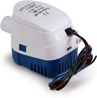 OurLeeme Bilge Pompen, 12V 1100GPH Automatische Bilge Pomp Marine Dompelpomp Auto Silent Vloeibare Pomp Waterpomp voor Bot...