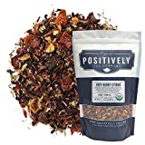 Positively Tea Company, Organic Very Berry Citrus, Herbal Tea, Loose Leaf, 16 oz. Bag