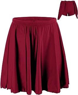 Firpearl Women's Swimsuit Bikini Tankini Bottom Swim Skirt with Panty