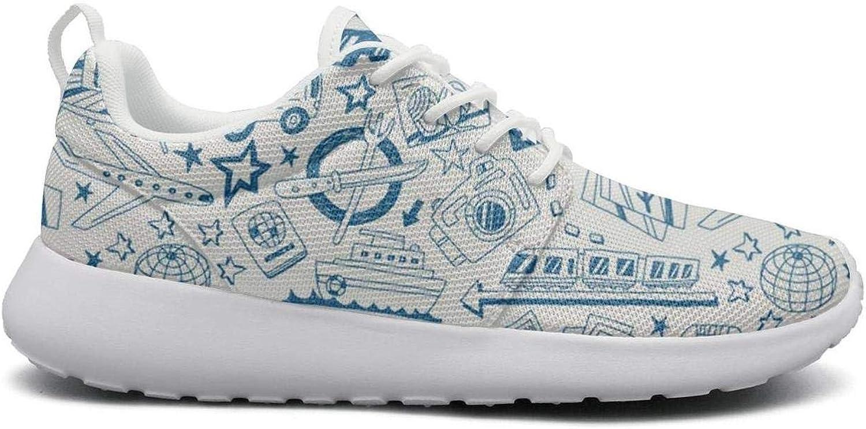 Ipdterty Wear-Resistant Climbing Sneaker Camera Car Bags Travel Pretty Women Soft Running shoes