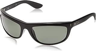 Ray-Ban Sunglasses - RB4089 Baloram  Frame: Black Lens: Crystal Green Polarized