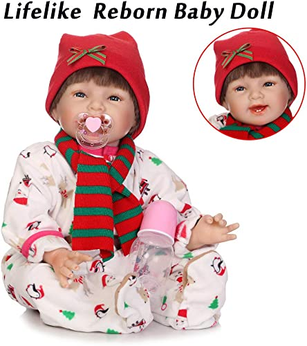 saludable DOGZI Reborn Bebé 40CM Reborn Baby Doll Vinilo Vinilo Vinilo de Silicona Bebé Realista Bebé recién Nacido Parece bebé Real Adecuado para Edades 3+,Viernes negro Juguetes para Niños  a la venta