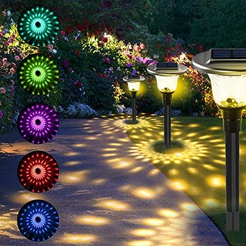 T-SUN 6 Pièces Lampe Solaire Jardin Lampe Solaire...