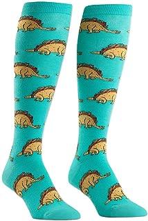 Sock It To Me, Wide Calf Stretch-It Knee High Socks, Food