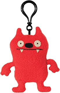 "GUND Uglydoll Clip-On Dave Darinko Red, 4.7"" Plush"