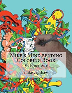 Mike's Mind Bending Coloring Book (book 1)