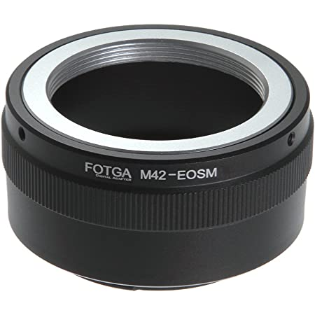 Fotga Adapter For M42 42mm Screw Mount Lens To Canon Camera Photo