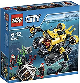 LEGO - Submarino de Gran Profundidad, Multicolor (60092)