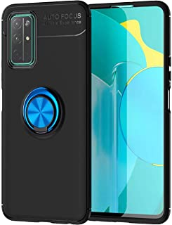 Wuzixi Case for vivo Y52s t1,Ultra-thin shock-resistant TPU protective cover with anti-scratch,360-degree swivel ring,Cove...
