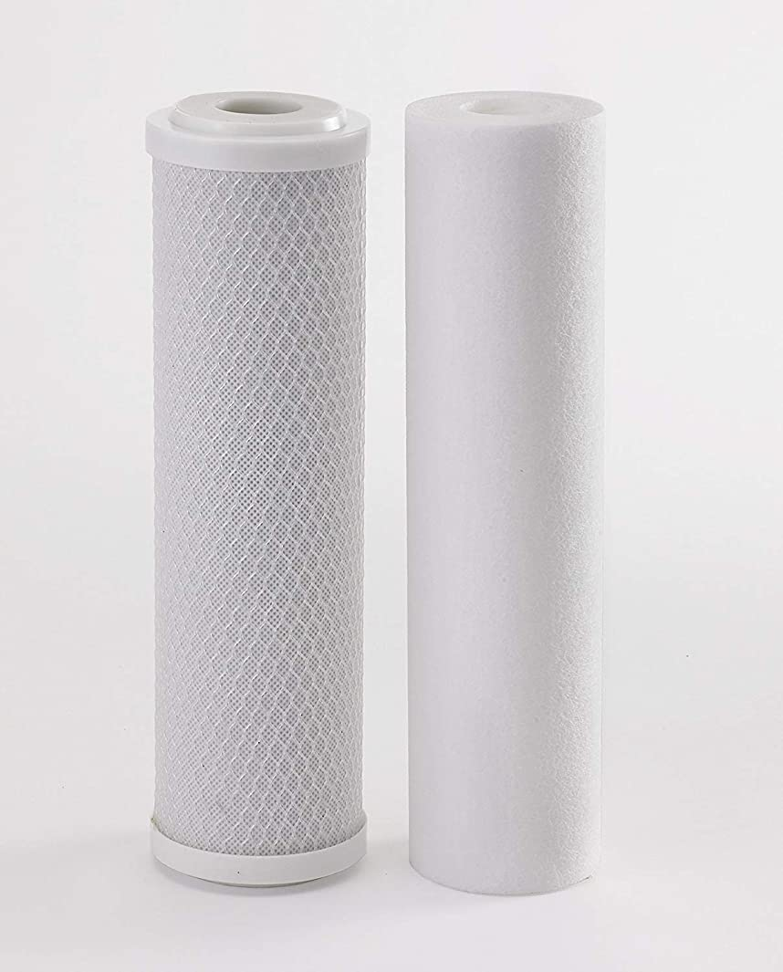 compatible filters for Clearsource Premium RV Water Filter System   Pristine Water Sediment and Carbon Filter Kit