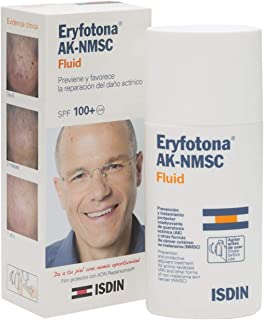 ISDIN Eryfotona AK-NMSC SPF100+ Fluid 50ml - Sunscreen - High Sun Protection - UVA