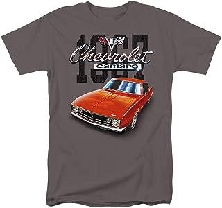 Chevy Camaro 1967 Classic Car T Shirt & Stickers