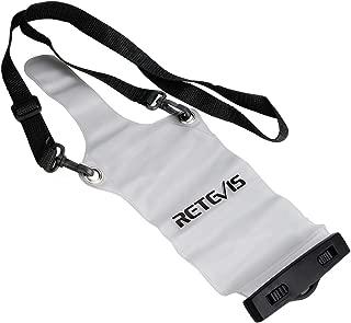 Retevis Two Way Radio Holster Transparent Waterproof Dustproof Long Sling Case for Retevis RT22 H-777 RT-5R RT15 RT19 Motorola Walkie Talkies (1 Pack)