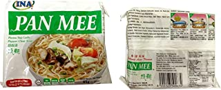 Malaysia Halal INA Pan Mee Instant Banmian Pepper Clear Soup Hakka Non-fried Flat Noodle mee hoon kueh 胡椒汤板面 2.9oz - total of 5 units