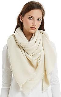 Best cream blanket scarf Reviews