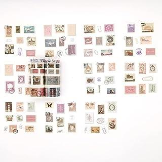 Lot de 10 rouleaux de tampons Washi Tapes décoratifs pour scrapbooking, bullet journal, planificateur, journal de junk
