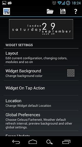 『Zooper Widget Pro』の2枚目の画像