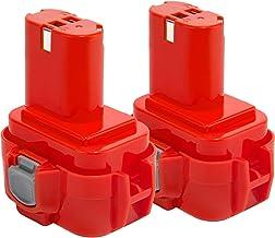 2X Shentec 9.6V 3.5Ah Ni-MH Batería para Makita PA09 9100 9120 9122 192595-8 192596-6 192638-6 193977-7 638344-4-2