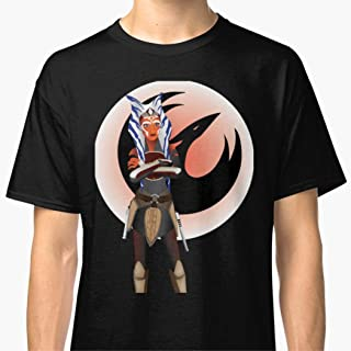 Unisex T-Shirt Ahsoka Tano Shirts For Men Women Neck T Shirts