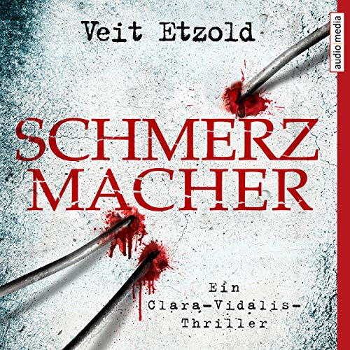 Schmerzmacher audiobook cover art