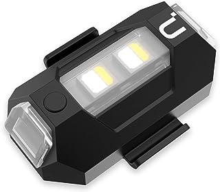 DR-02 Strobe Drone Light Compatible with DJI Mavic AIR 2 Pro Inspire 2 Pro etc, 3 Color Adjustable Anti-Collision Light fo...