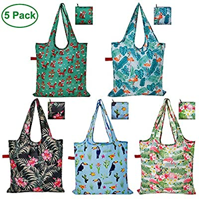 CALACH Grocery Bags Reusable Foldable Shopping ...