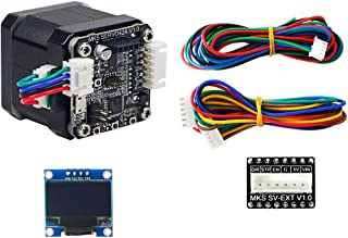 3D Printing Closed Loop Stepper Motor NEMA17 MKS SERVO42 Developed by Makerbase That Prevents Losing Steps from 42 Stepping Motor (with Display)
